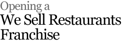 Restaurants Leasing Atlanta