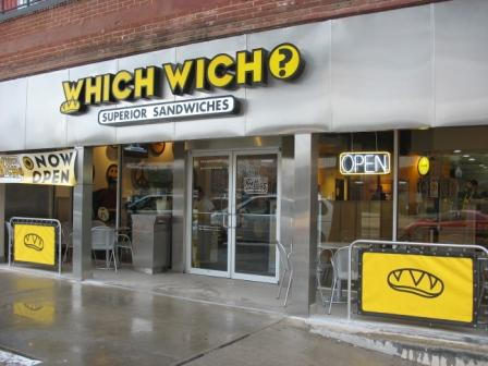 Sandwich Franchise Which Wich for Sale in Oklahoma College Community