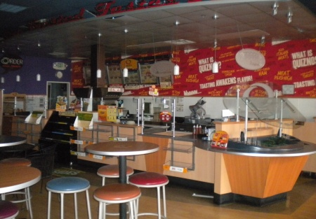 Franchise Restaurant for Lease Previously Occupied by Quizno's. Equipped