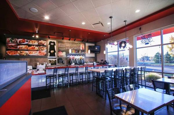 Restaurant Space for Lease Features End-Cap and Patio in Ft. Collins
