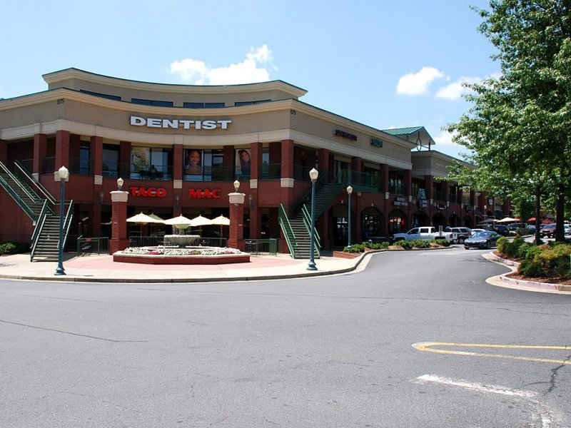 2150 Square Foot 2nd Generation Restaurant Site in Alpharetta GA