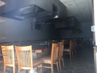 Restaurant space for lease with Outside Patio. Bring menu and concept!