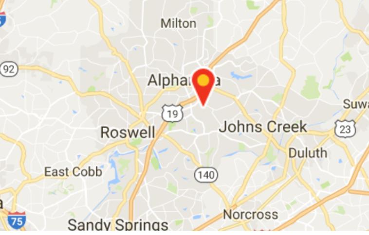 Restaurant Space For Lease in High Income Alpharetta, GA