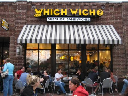 Which Wich Franchise Sandwich Shop for Sale in College Town
