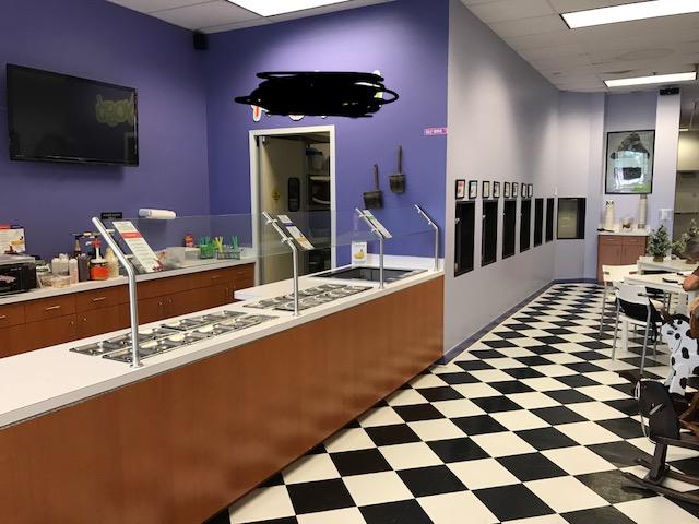 Frozen Yogurt Business for Sale in Wellington Florida has 7 machines