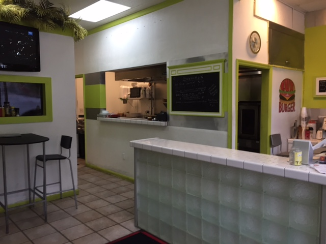 Fast Food Restaurant for Sale in Coral Springs Features Fresh Hamburgers