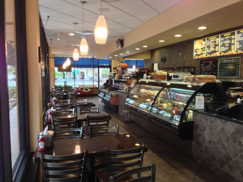 Bagel Shop for Sale by the Beach Offered by the Restaurant Brokers