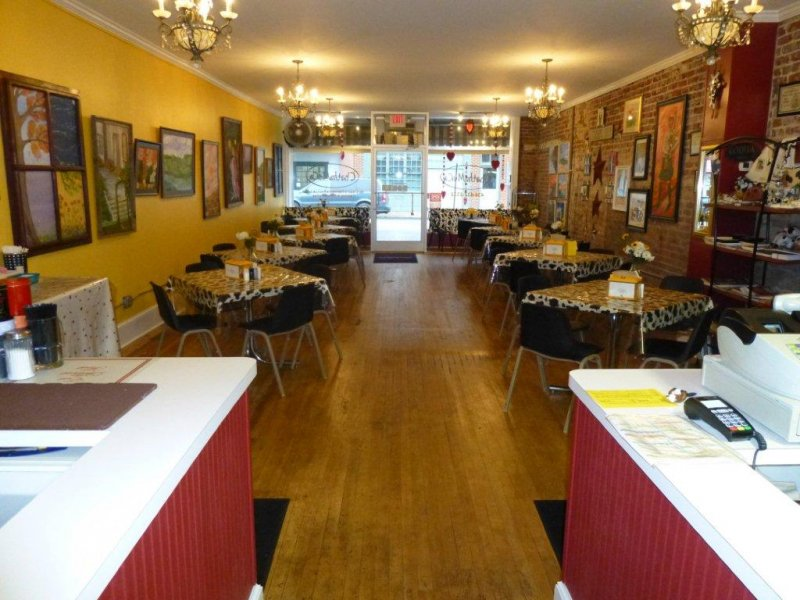 Award Winning Cafe for Sale in Chatham VA - Great books and earnings!