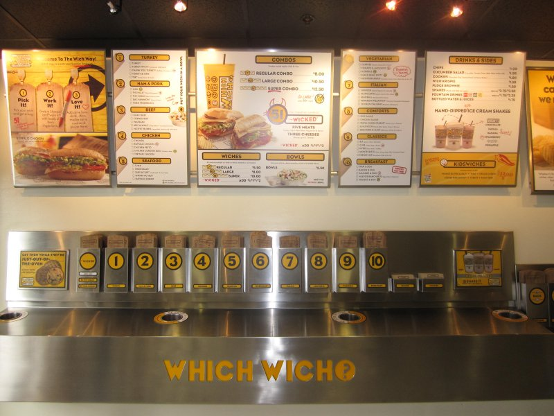 Which Wich Superior Sandwich Shop Franchise for Sale in Austin Texas