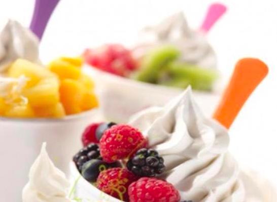 Self Serve Frozen Yogurt Shop for Sale in High Traffic Location - No Royalties!