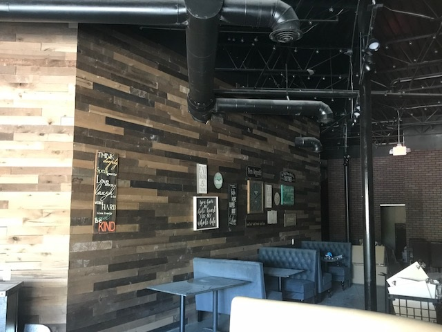 Fully-equipped restaurant space for lease in Duluth. Beautiful build-out!