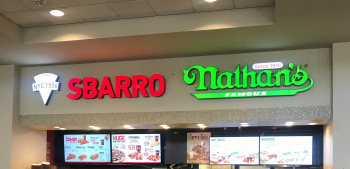 Sbarro and Nathans Franchises in One Amazing Location - Six Figure Earnings!