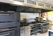 Fort Lauderdale Restaurant Space for Lease includes Kitchen Equipment
