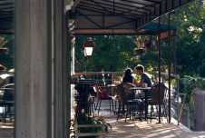 Restaurant Space for Lease in Downtown Austell is perfect for restaurant/cafe, pub or small brewery.