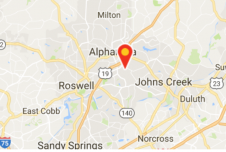 Restaurant Space For Lease in High Income Alpharetta, GA