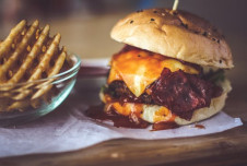 Burger franchise for sale in Hickory, NC with sales over $625,000!