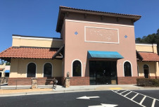 Bar and Restaurant space for lease. End cap unit with huge patio!