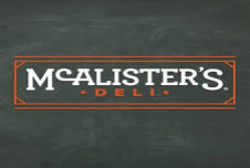 Earnings of nearly $220,000 on this McAlister's Deli Franchise for Sale